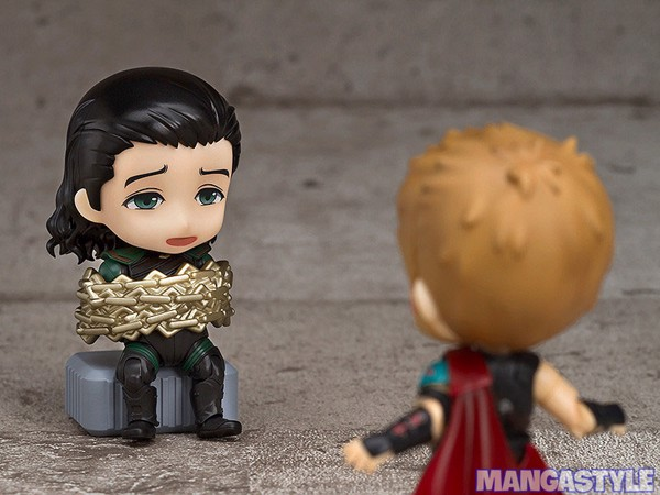 Nendoroid Loki Thor Battle Royal Edition Mighty Thor Battle Royal