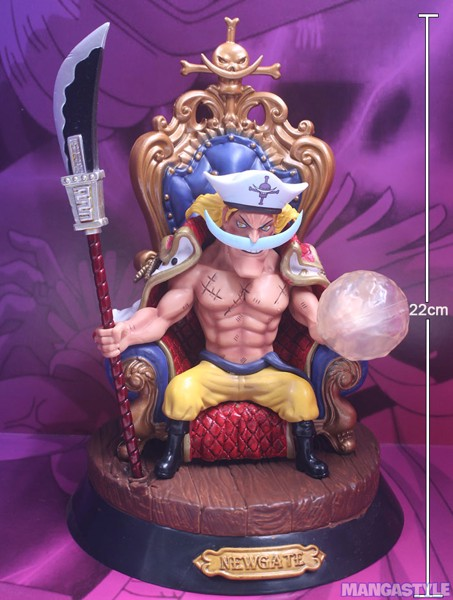 One Piece Edward Newgate Figures SD GK Polystone Statue