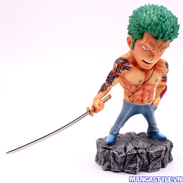 One Piece Underworld Roronoa Zoro Tattoo Figure