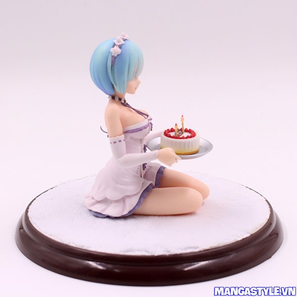 Rem Birthday Cake Ver 1/7 Scale Figure Re Zero