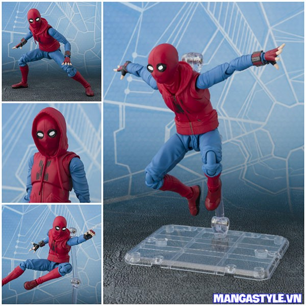 S.H.Figuarts Spider Man Homemade Suit Ver Spider Man Homecoming