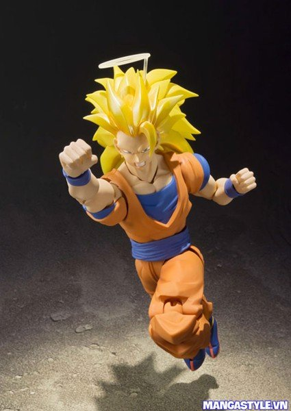 S H Figuarts Super Saiyan 3 Son Goku Dragon Ball Z