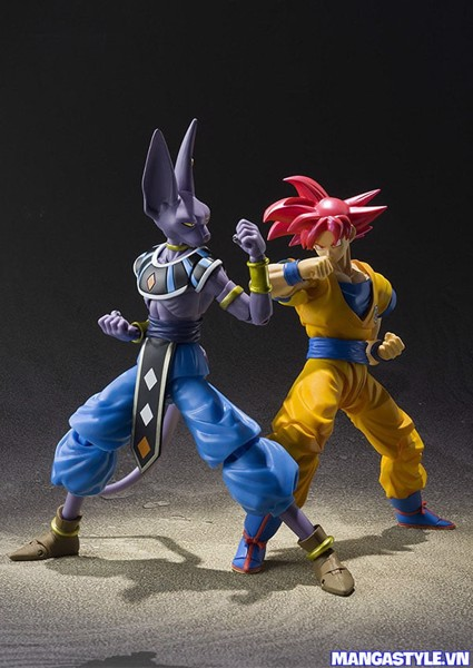 S H Figuarts Super Saiyan God Son Goku Dragon Ball Super