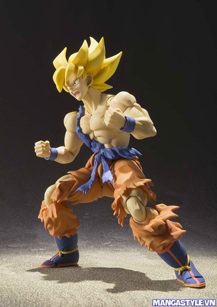 S H Figuarts Super Saiyan Son Goku Warrior Awakening Dragon Ball Z