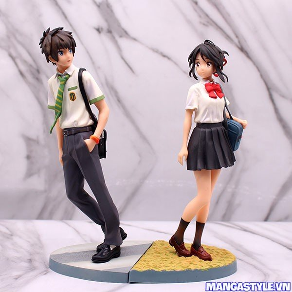 Taki and Mitsuha 1/8 Scale Figures Your Name