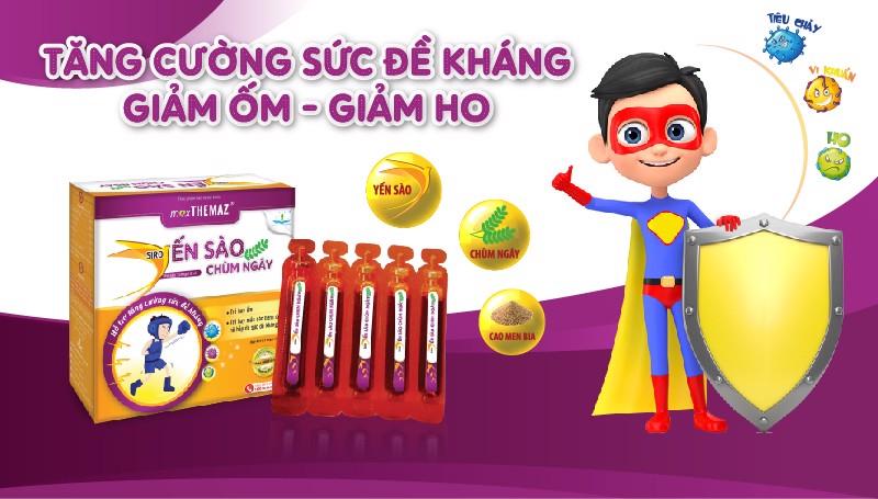 Siro Yến Sào Chùm Ngây