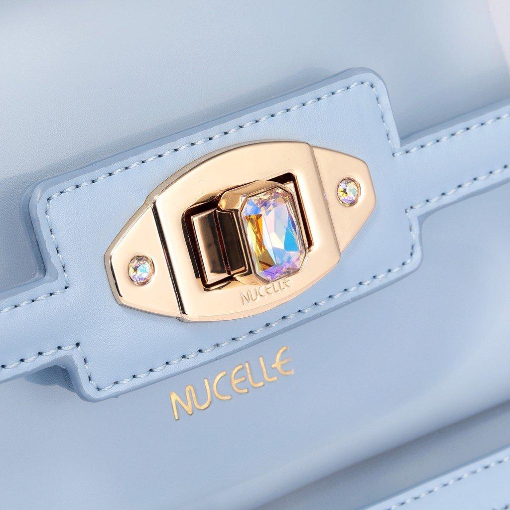 Túi xách Nucelle trong suốt phom chữ nhật