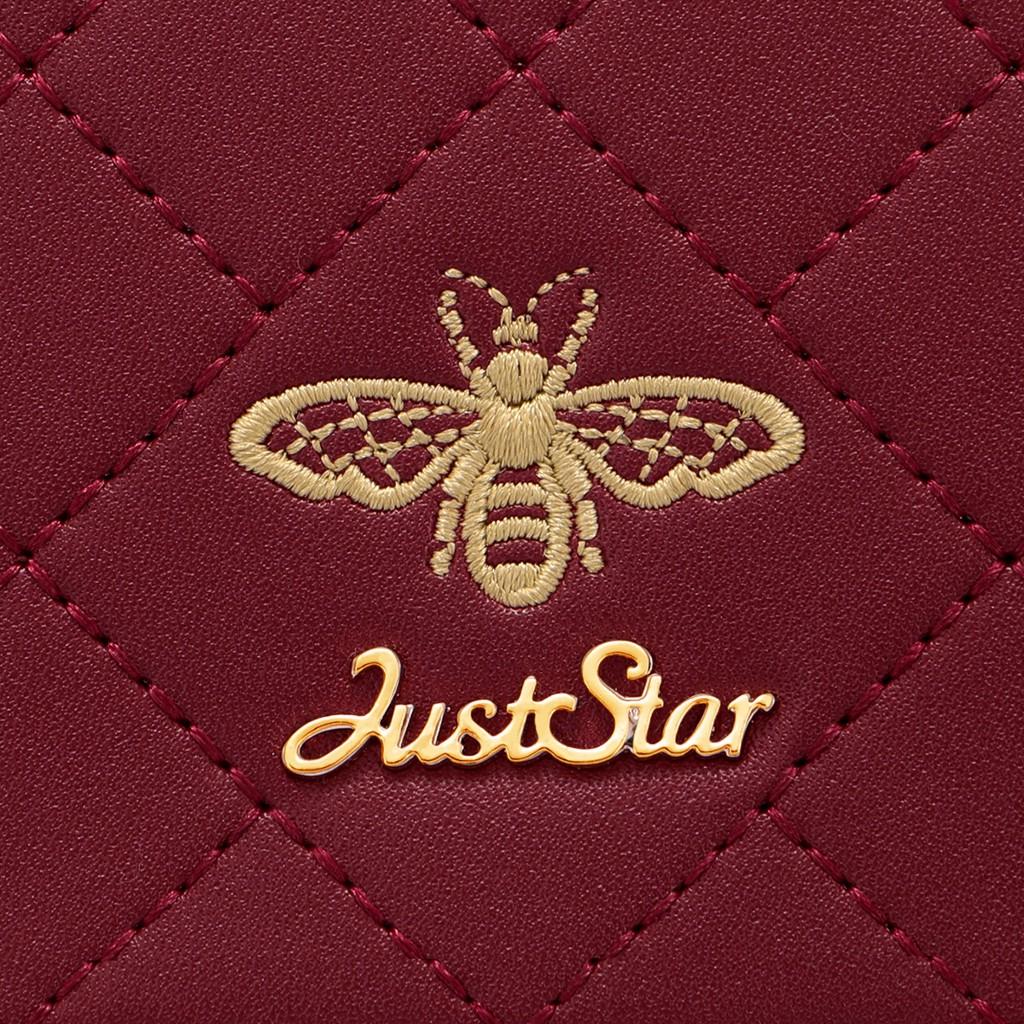 Túi chần chéo charm ong sang trọng Just Star