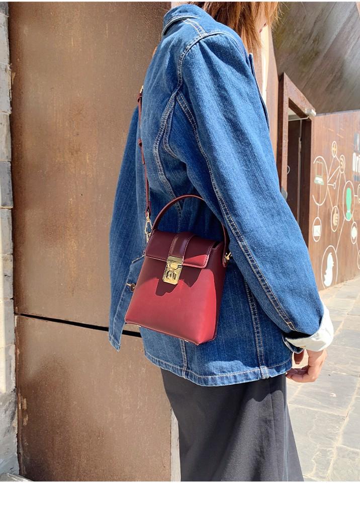 Túi Micocah phom đứng dễ thương MSD322-2  màu đỏ