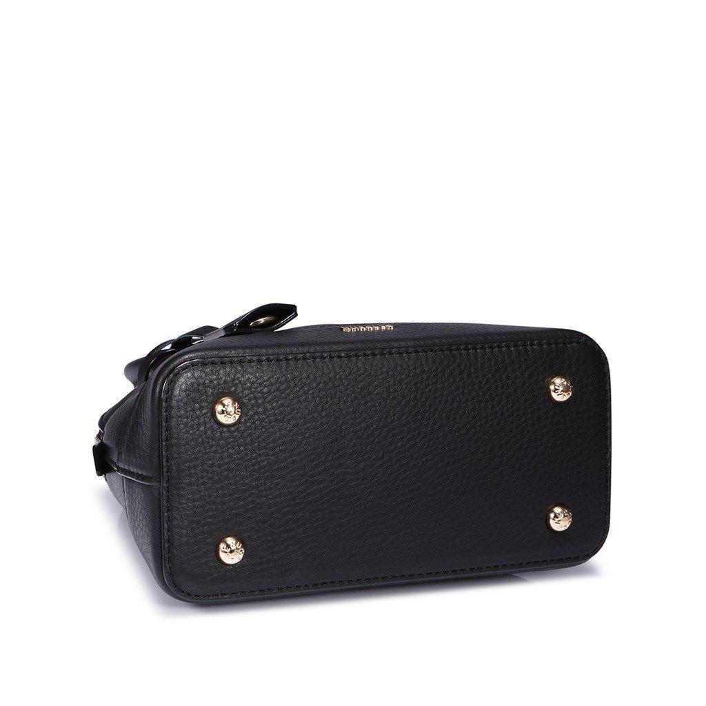 Túi Nucelle sang trọng da thật công sở màu đen 1171593-01
