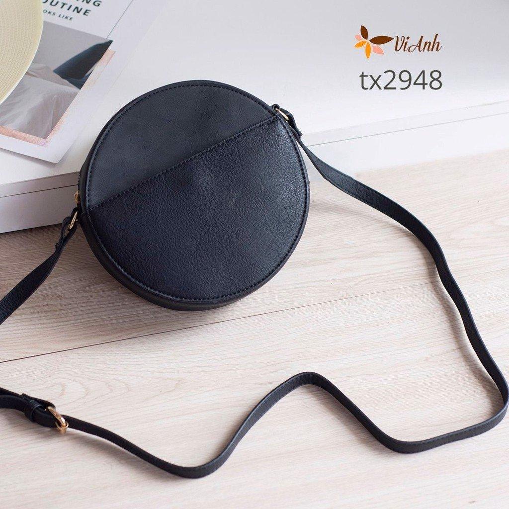 Túi tròn đen đường kính 19cm