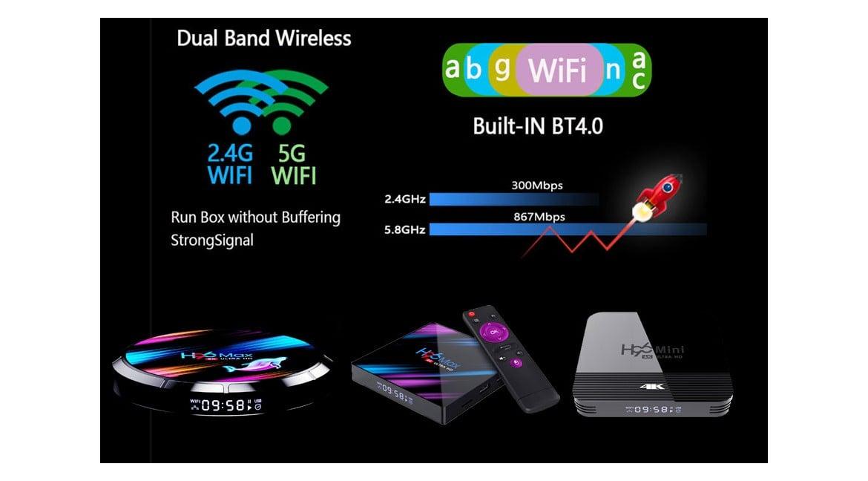 TV Box WiFi kép 2.4G và 5G