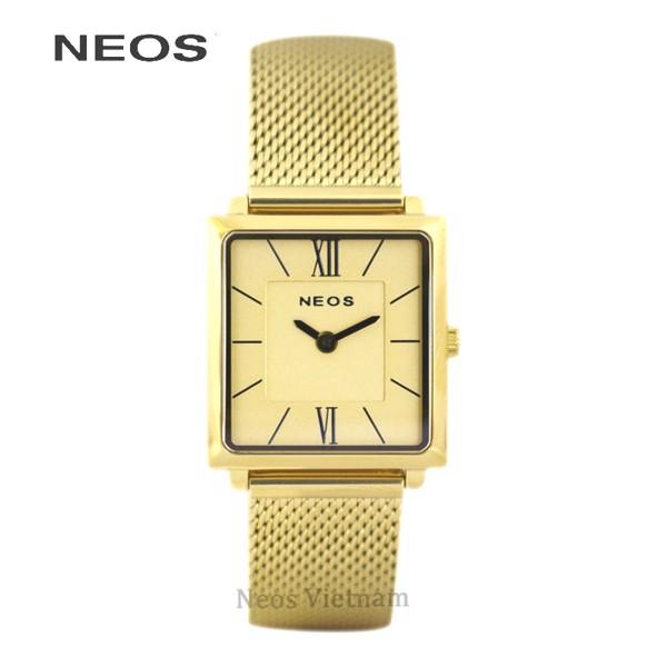 Đồng hồ mặt vuông nữ Neos N-40674L