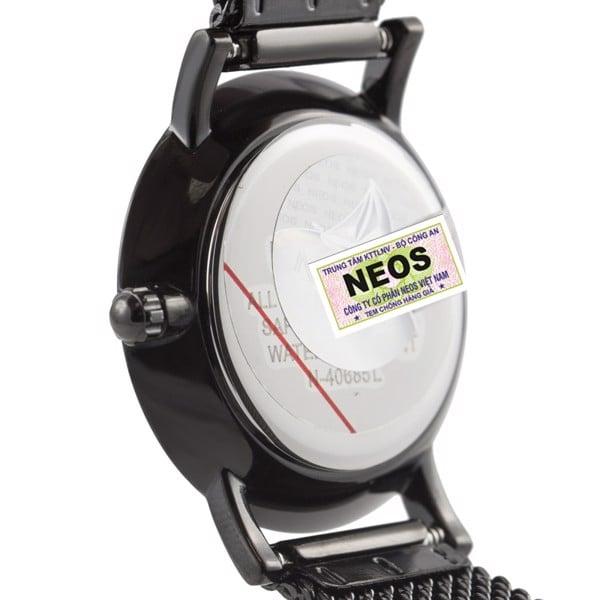 đồng hồ nữ dây lưới neos n-40685l-2