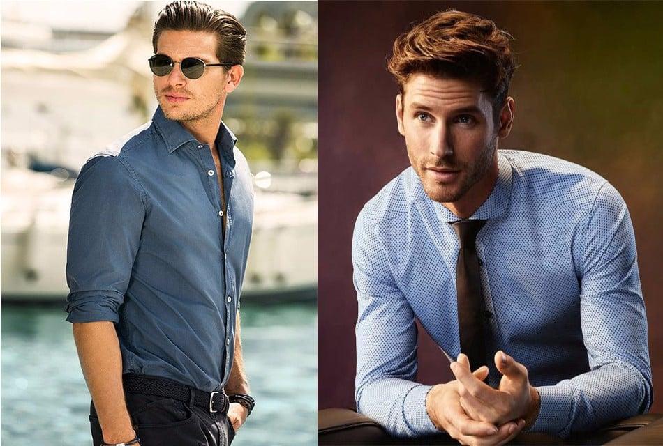 Cách chọn áo sơ mi nam cực chuẩn theo màu da bạn nhất định phải biết - Ảnh 1