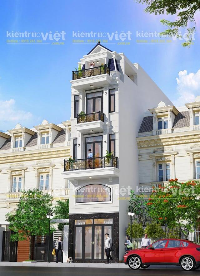 Nhà 5 tầng 70m2 diện tích 4x18 Tân Phú