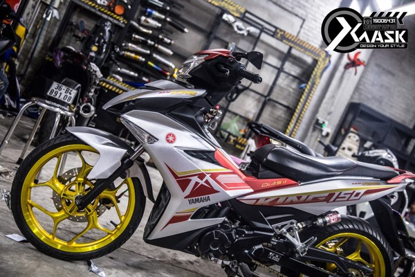 decal tem xe exciter 150 Mx King