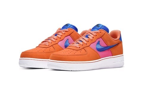 "Nike ra mắt Air Force 1 '07 LV8 phối màu ""Orange Trance"""