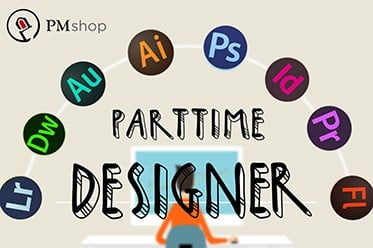 TUYỂN DỤNG DESIGNER PART TIME