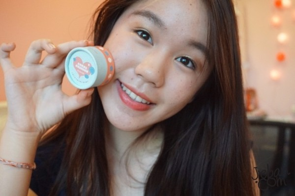 Phấn Má Hồng The Face Shop Lovely MEEX Cushion Blusher 5g