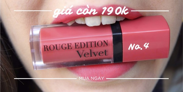 BOURJOIS ROUGE EDITION VELVET  sale