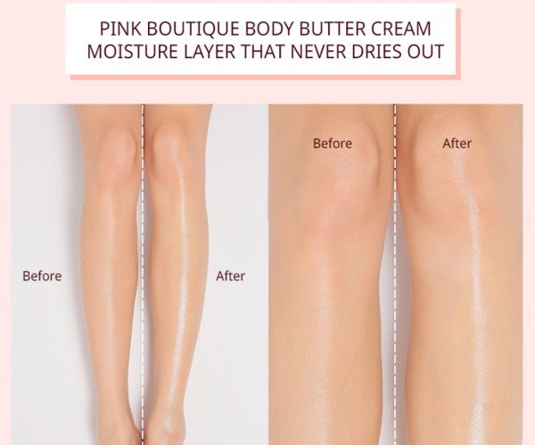 Dưỡng thể 3CE Pink Boutique Body Butter Cream