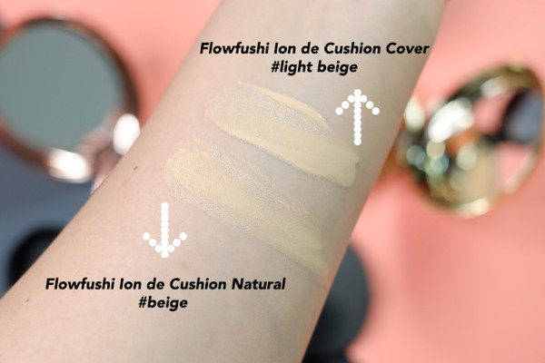 Phấn Nước FlowFushi Ion De Cushion Natural - 01 Light Beige