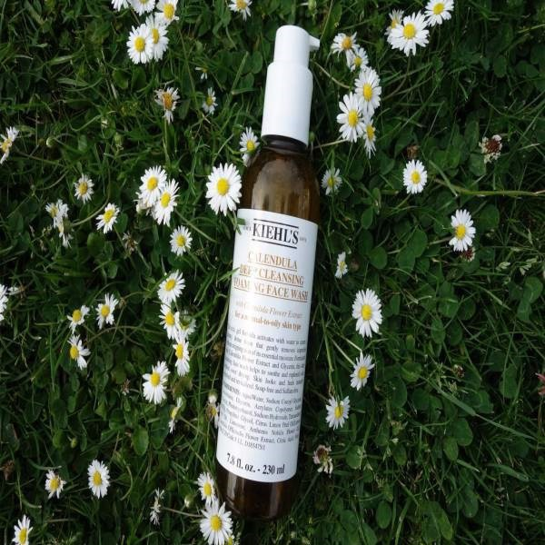 6.Kiehl's Calendula Deep Cleansing Foaming Face Wash
