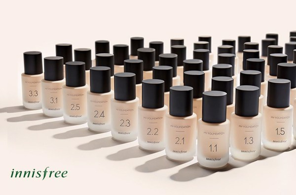 Kem Nền Innisfree My Foundation 1.3
