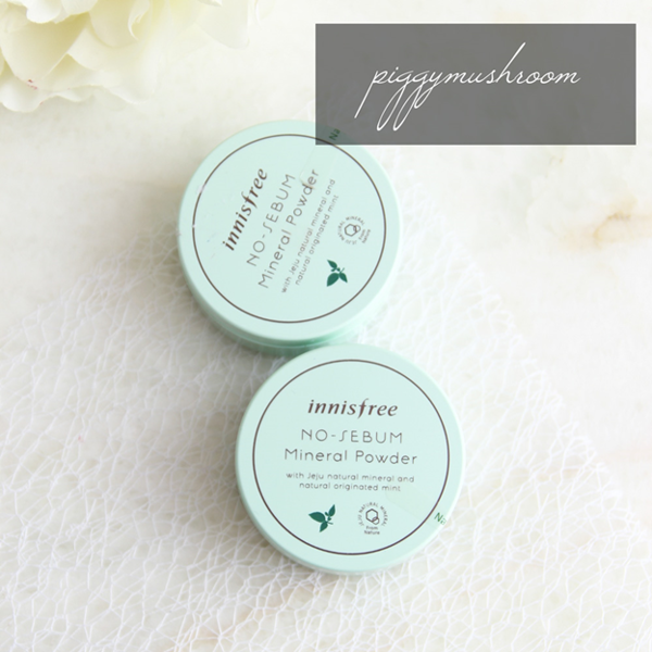 Innisfree No Sebum Mineral Powders