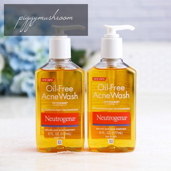 Gel rửa mặt Neutrogena‬ Oil-free Acne Wash