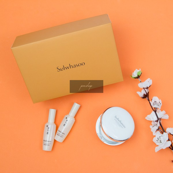 Sulwhasoo Perfecting Brightening Cushion Set