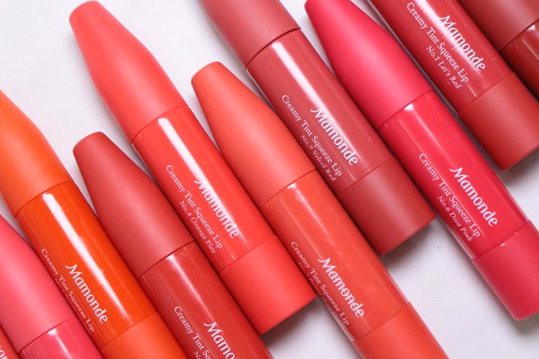 Son Mamonde Creamy Tint Squeeze Lip - 04 Orange Play
