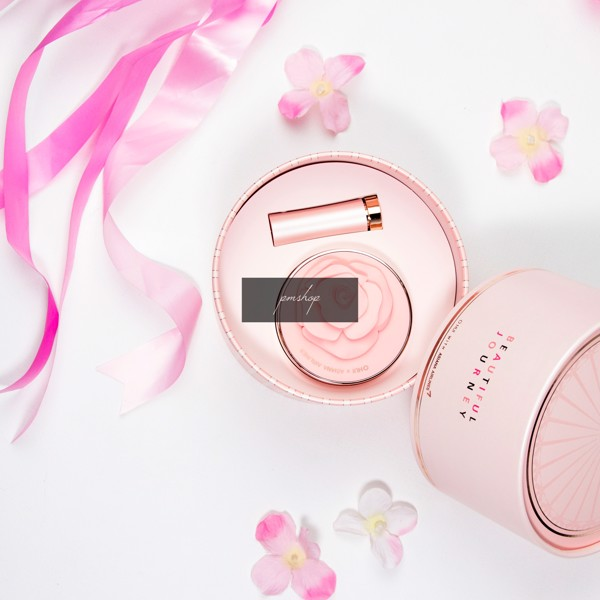 Set Phấn Nước Và Son Ohui Ultimate Cover Moisture Cushion Special Set - 02 Honey Beige