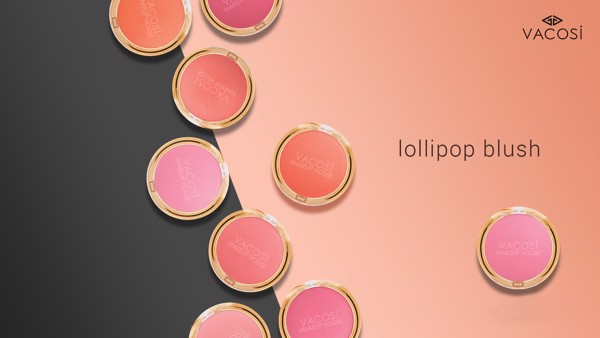 Phấn má hồng Vacosi Lollipop Blush Set
