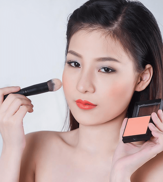 Má Hồng Vacosi Natural Studio Powder Blush OR09