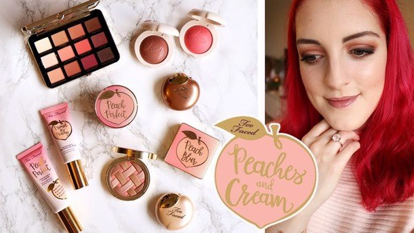 Má Hồng Too Faced Peach My Cheeks Melting Powder Blush Peach Dream