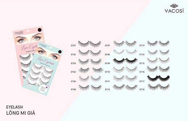 Mi Giả Vacosi Love Eyelash Collection