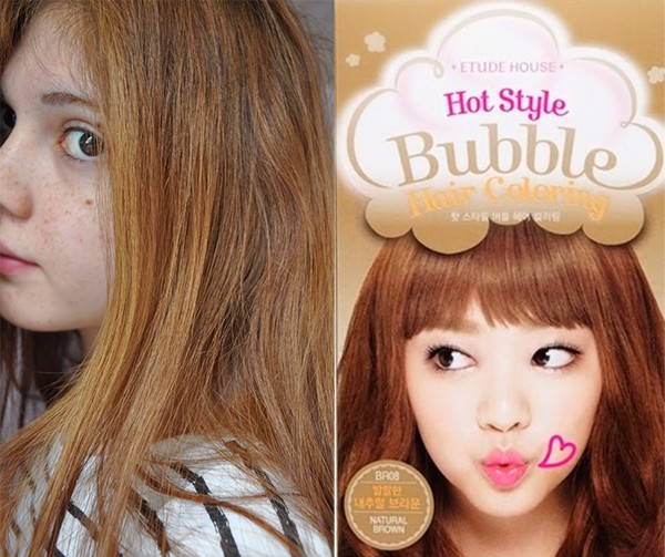 Nhuộm tóc Hot Style Bubble Hair Coloring ‪Etude House‬