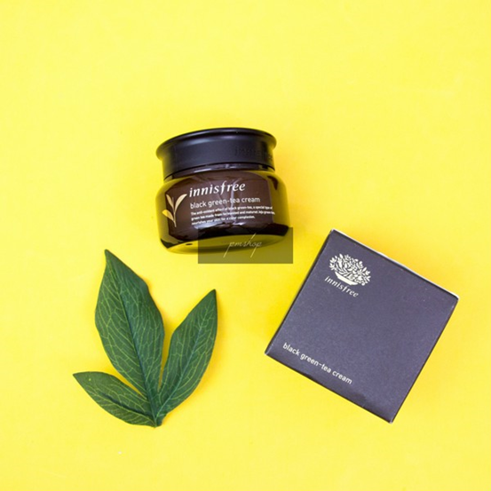Kem dưỡng Innisfree Black Green Tea Cream 60ml