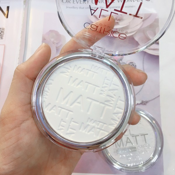 Phấn Phủ Catrice All Matt Plus Shine Control Powder - 001 Universal