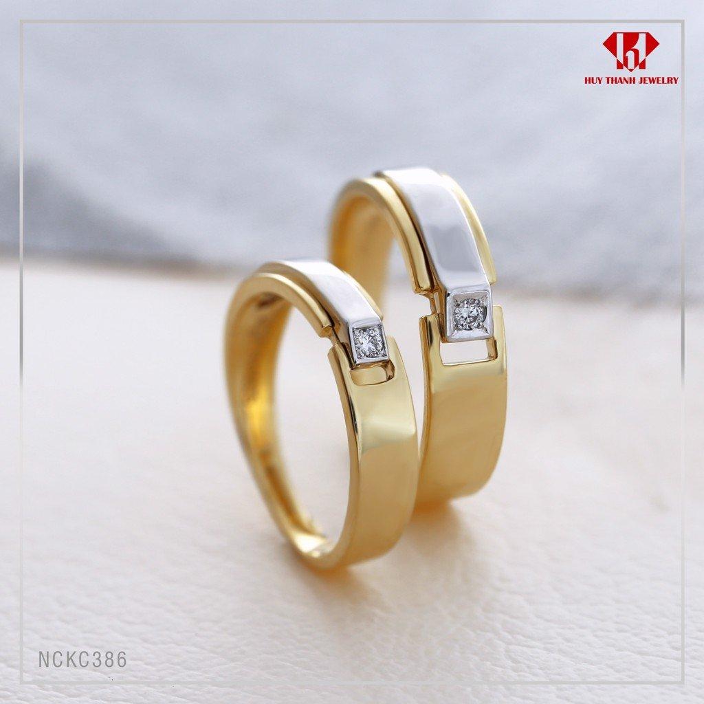 nhẫn cưới kim cương giá rẻ