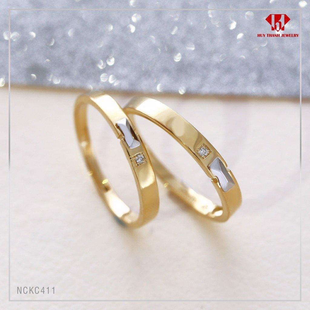 Mẫu nhẫn cưới kim cương năm 2019