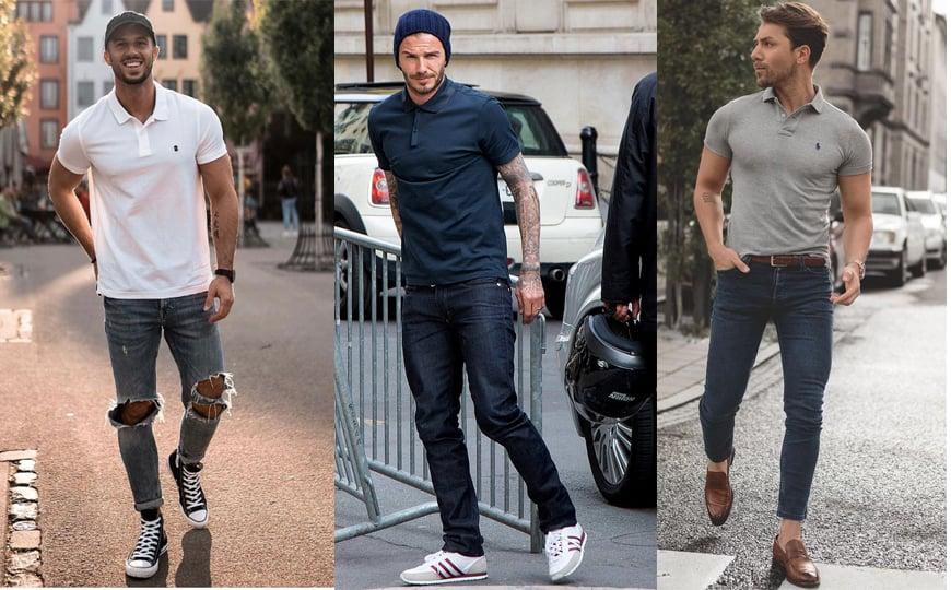 3 cách phối đồ với Quần jeans nam cho dịp Tết Nguyên Đán 1