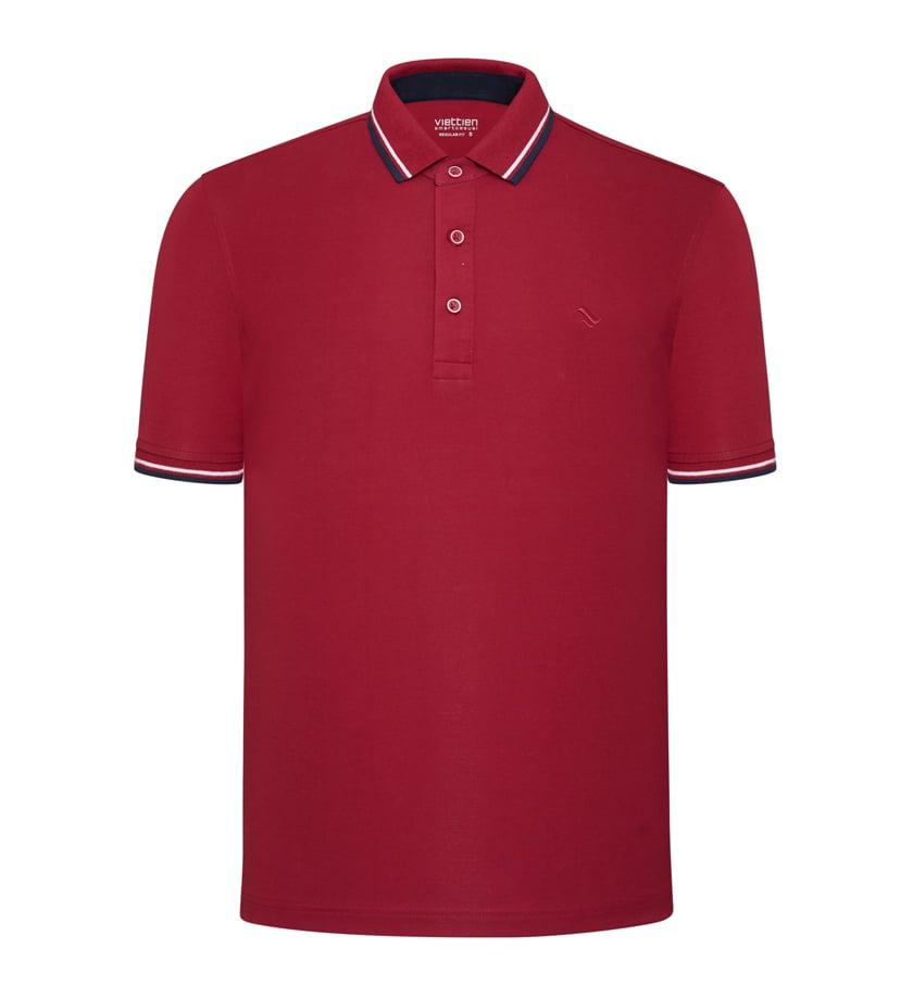 03 mẫu áo thun đỏ dạo phố may mắn 3