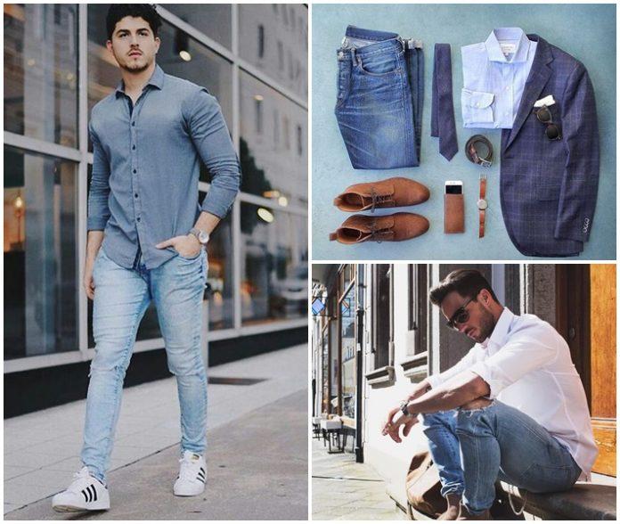 4 cách phối đồ cùng quần jeans chất lừ nam tính 5