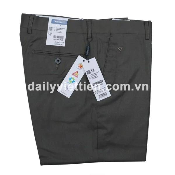 6 mẫu quần tây trơn Việt Tiến 4