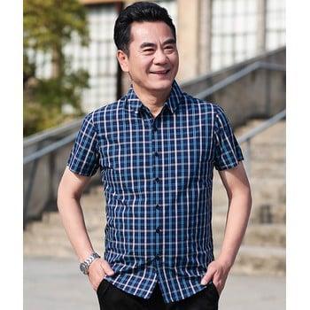 Top 5 mẫu áo sơ mi nam trung niên ấn tượng của Việt Tiến