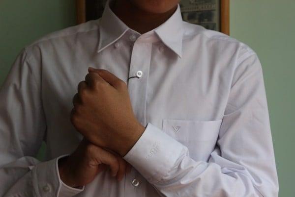 Mẫu sơ mi trắng trung niên của Việt Tiến: trẻ trung, ấn tượng cho phái mạnh