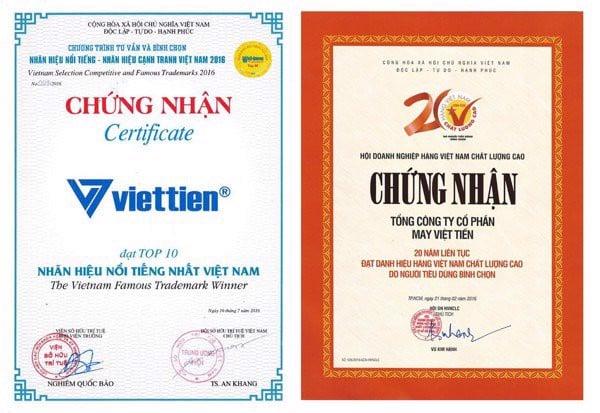 Áo sơ mi xanh biển Việt Tiến 5